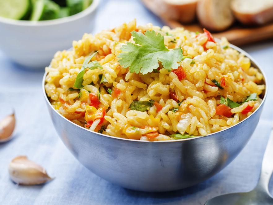 Rice and Cilantro Salad